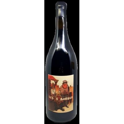 """Wallut, Reynaud, Barret - Vin de France """"Les 3 barbus"""" - 2016 (magnum)"""