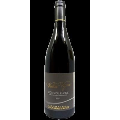 """Domaine Chambeyron - Côtes du Rhône """"Vieilles Vignes"""" - 2017"""