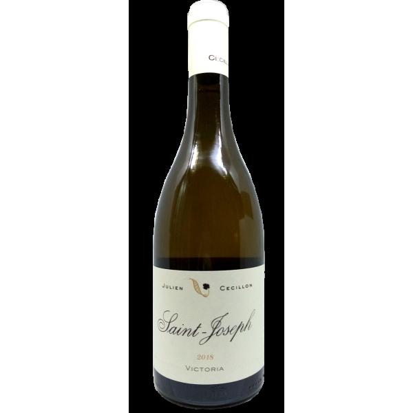 """Julien Cécillon - Saint-Joseph blanc """"Victoria"""" - 2018"""
