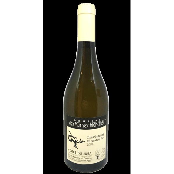 """Domaine des Marnes blanches - Chardonnay """"En Quatre Vis"""" - 2018"""