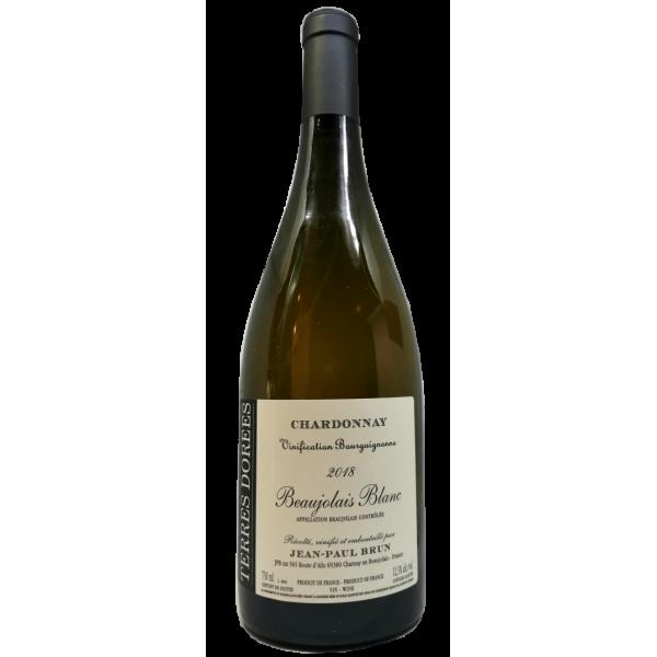 Domaine des Terres Dorées - Beaujolais Blanc vinification bourguignonne - 2018