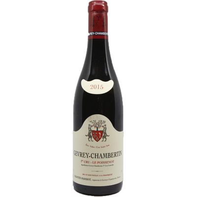 "Domaine Geantet-Pansiot - Gevrey-Chambertin 1er Cru ""Le Poissenot"" - 2015"